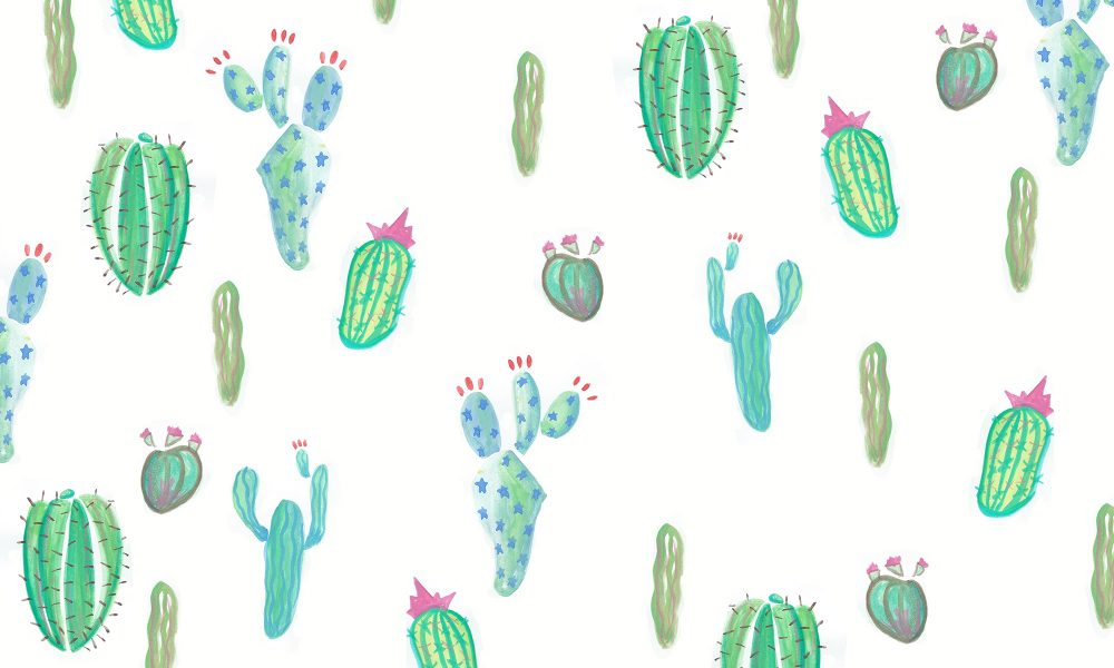 Floral Print Iphone Wallpaper Tech Tuesday Cacti Party Wallpapers Wonder Forest