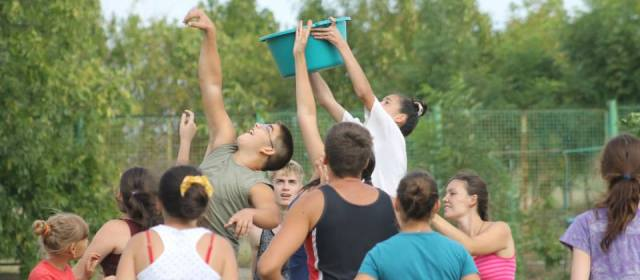 Establishing an orphanage, Ukraine