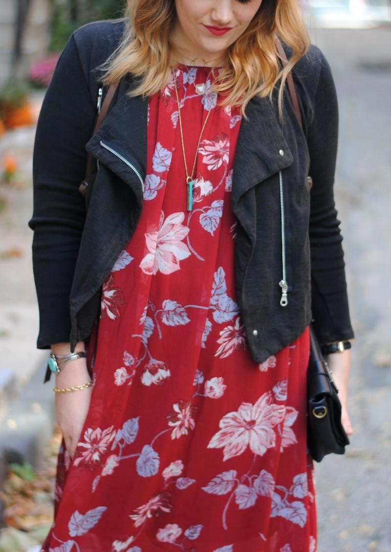 fall floral dress 017