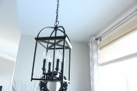 Breakfast Nook Lighting - The Wood Grain Cottage