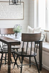 New Breakfast Nook Chairs - The Wood Grain Cottage