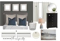 Guest Room Plan - The Wood Grain Cottage