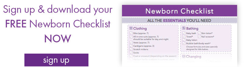 Newborn Baby Essentials Checklist Baby Sleep Advice woolroom
