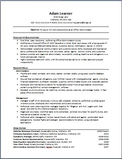 Sample Resume How To Write Resume For Older   Resume For Older Workers  Resumes For Older Workers