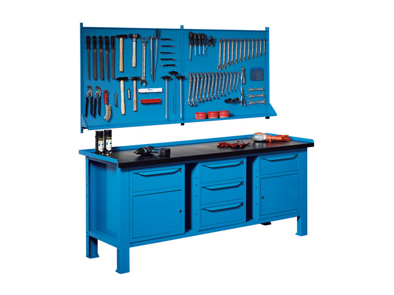 Buy Heavy Duty Steel Workbenches Free Delivery