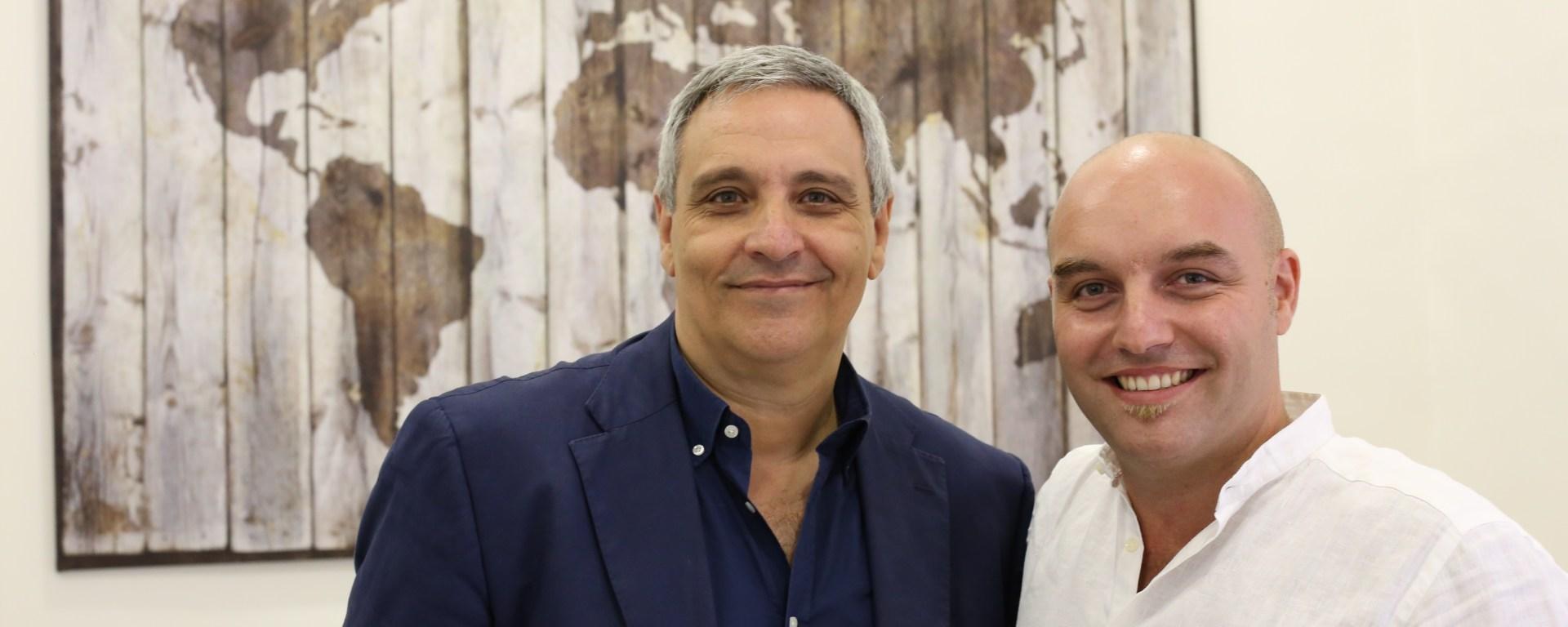 Maurizio De Giovanni e Mimì De Maio