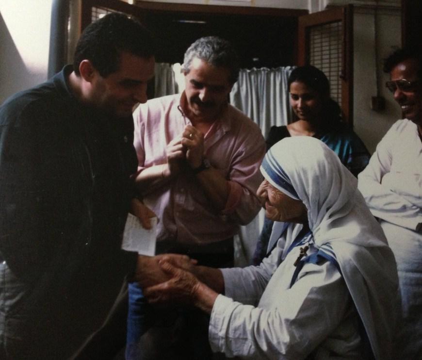 Gennaro Matino e Madre Teresa di Calcutta