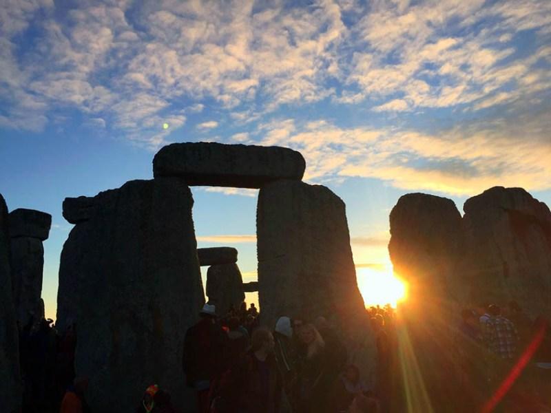 Solsticio en Stonehenge