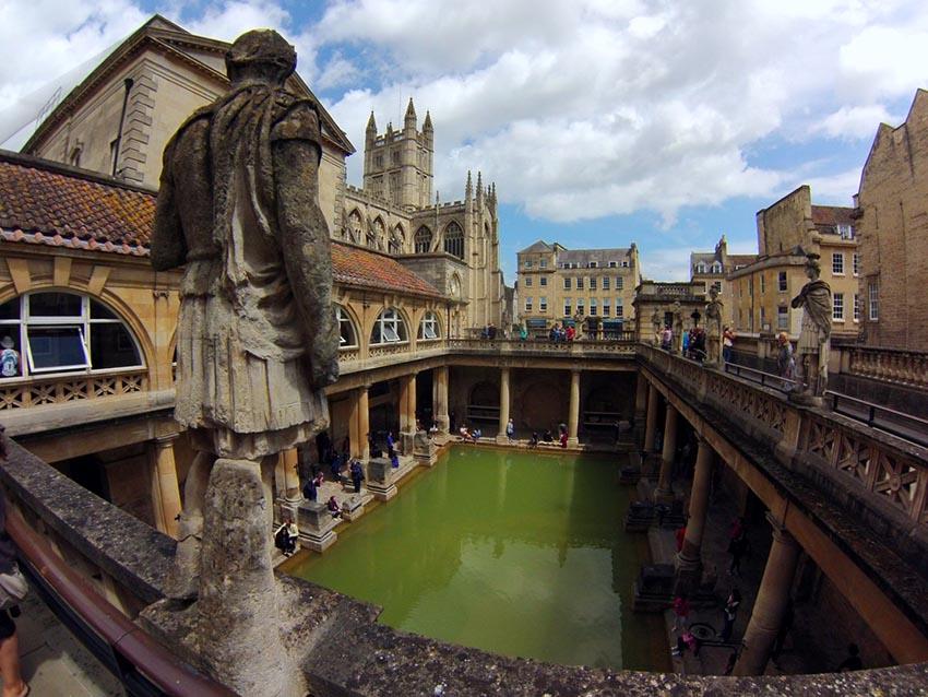Bath en inglaterra
