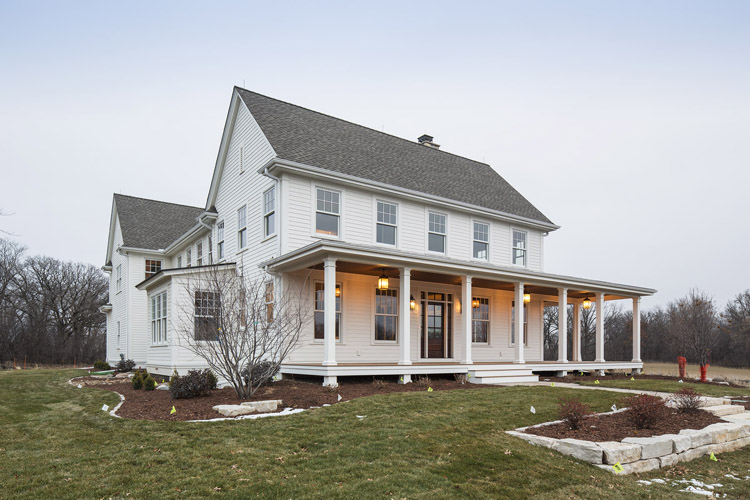 25 Great Farmhouse Exterior Design - Haus Modern