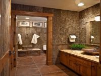 20 Marvelous Rustic Bathroom Design