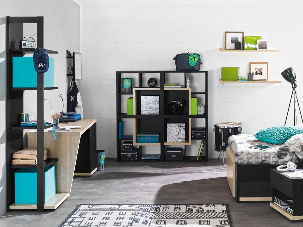 30 Amazing Industrial Kids Bedroom Design