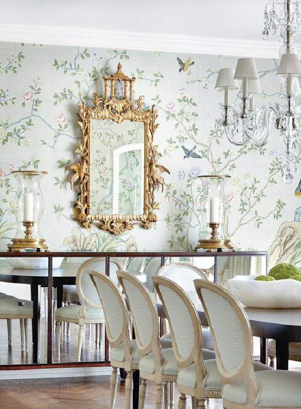 Romantic 3d Wallpaper 25 Amazing Wallpaper For Your Beautiful Dining Room