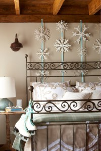 Snowflake Bedroom Decorations