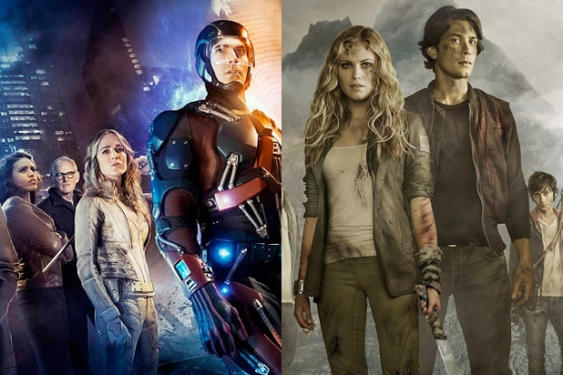 Free Fall Desktop Wallpaper The Cw Sets Legends Of Tomorrow Premiere The 100 Return