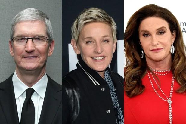Tim Cook, Ellen DeGeneres, Caitlyn Jenner Lead Out Magazine\u0027s LGBT - tim cook resume