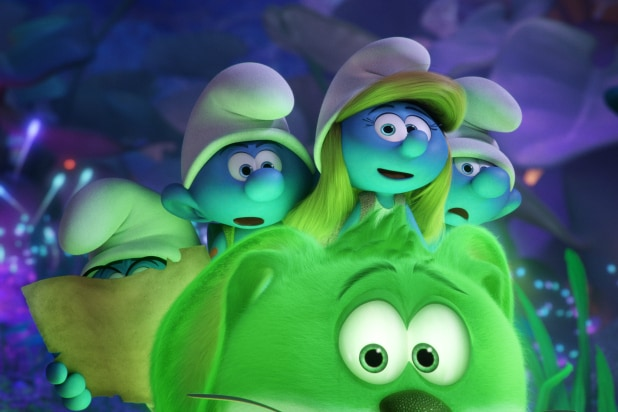 The Smurfs 2 3d Live Wallpaper Smurfs The Lost Village Review Smurfette Finds Herself