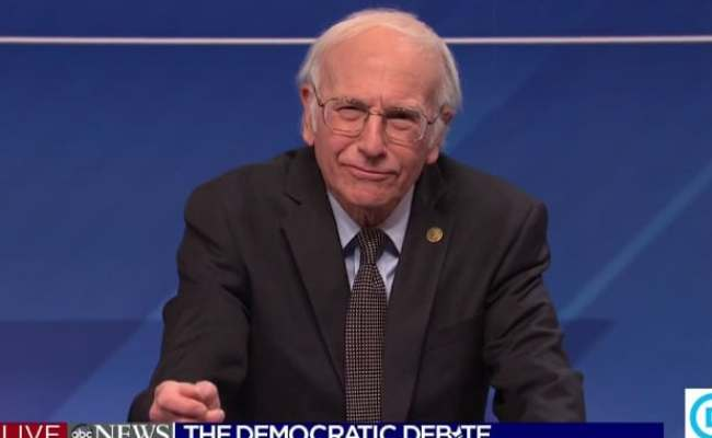 Snl Larry David S Bernie Has An Easy Solution For Those