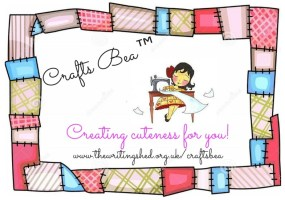 CraftsBea™ – How sewing cuteness will help me with anxiety
