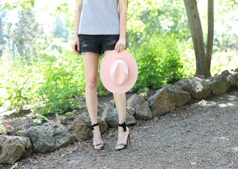 Bows + Pink Hat 8a