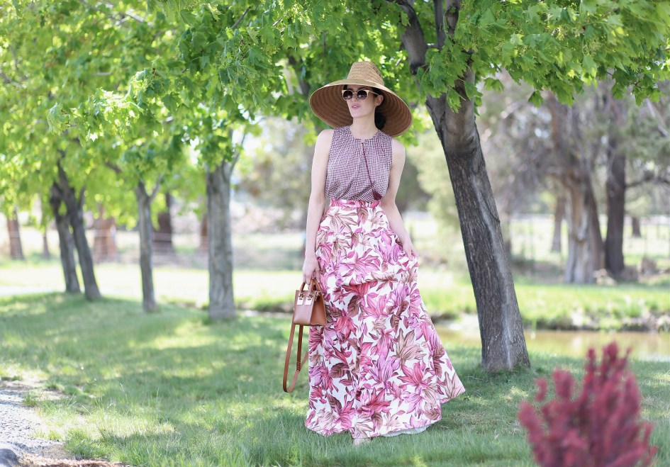 Gingham + Floral 2a
