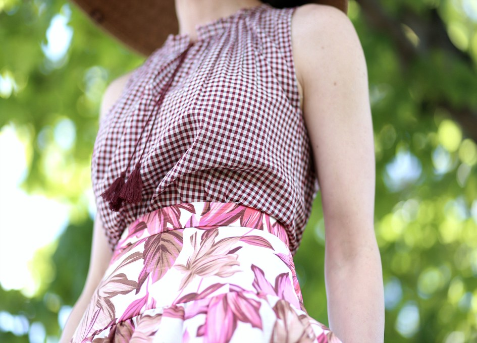 Gingham + Floral 4a