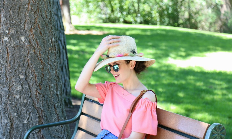 Pink Pom Hat 6a