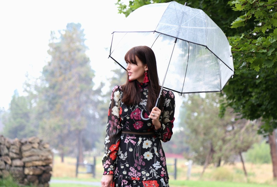 Rainy Sunday Best with Donna Morgan + Welden Bags 14a