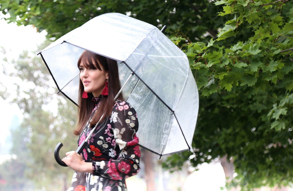 Rainy Sunday Best with Donna Morgan + Welden Bags 6a