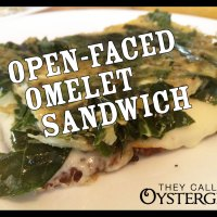 Open-Faced Omelet Sandwich Recipe