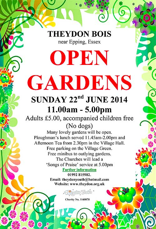 Year Calendar Uk Open Ponies Association Uk The Association For Everyone In Theydon Bois Open Gardens