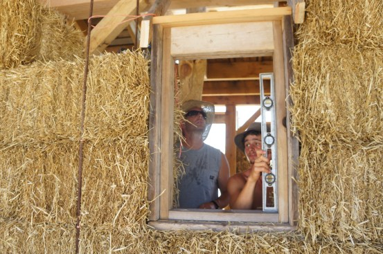 Straw Bale & Timber Frame House 03