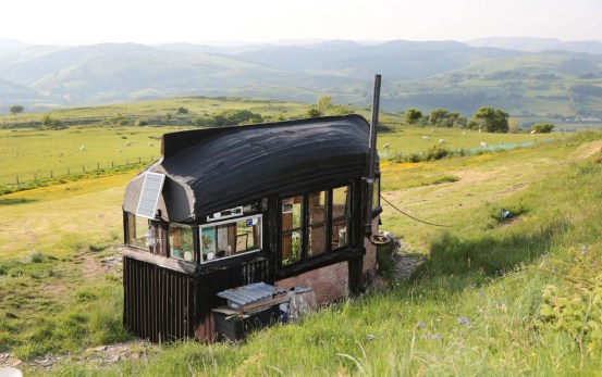 Recycled Boat Roof Shed