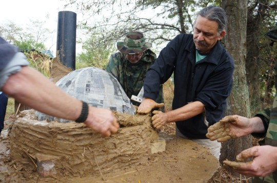 Cob Oven Workshop - The Year of Mud 03