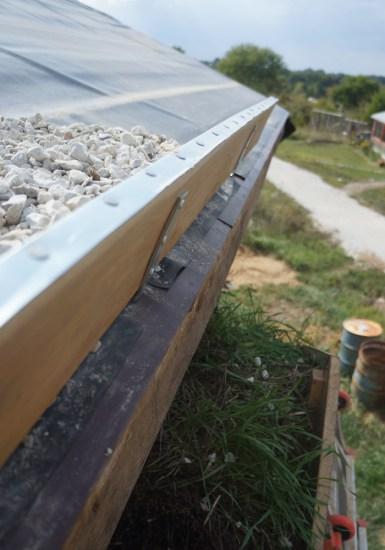 Living Roof Edge Board