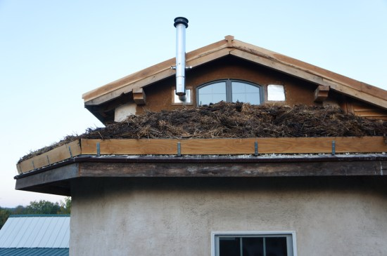 Living Roof Termination Detail