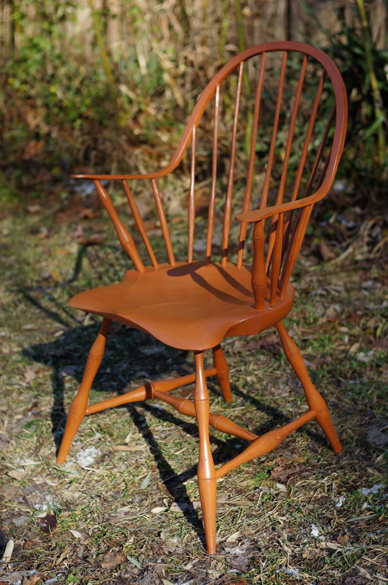 Continuous Arm Windsor Chair 02 U2026