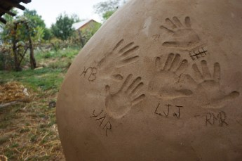Cob Oven Workshop: Hands