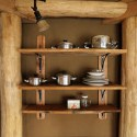 Installing Sweet Shelves in Your Straw Bale Home