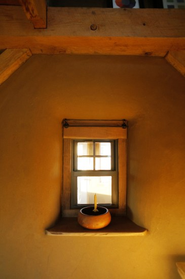 Finish Clay Plaster on Straw Bale Walls