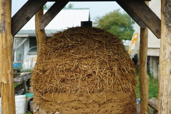 Straw-Clay Insulation