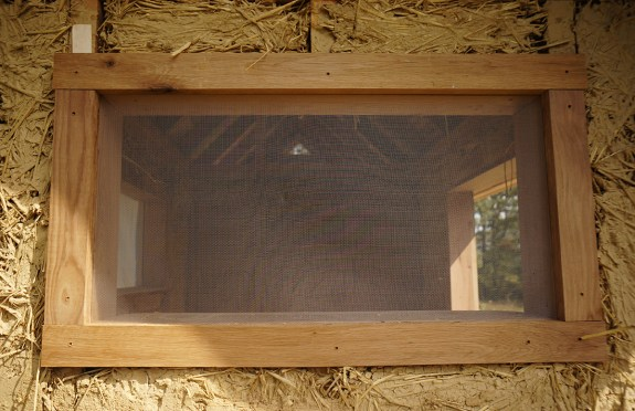 Wood Trim around Window
