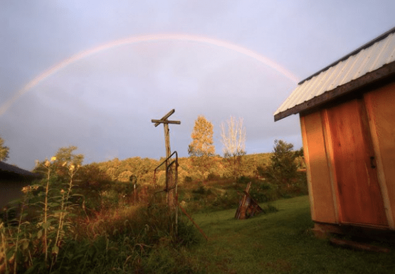 South Slope Farm rainbow