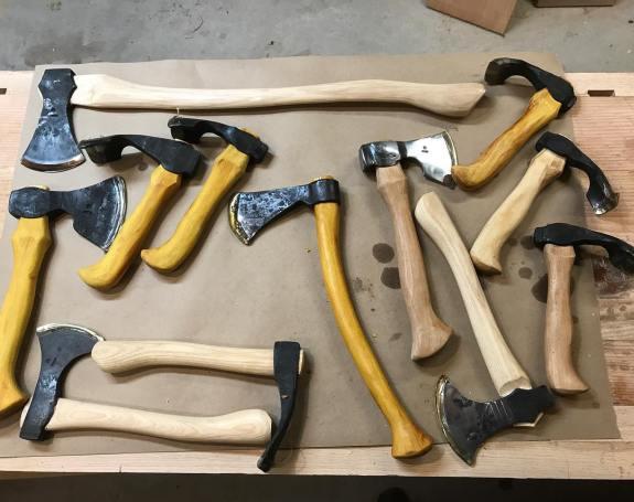 black bear forge axes
