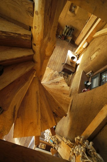 Diy Wooden Spiral Staircase Design How Did The Year Mud
