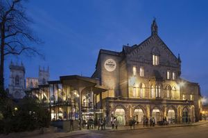 The new design for the front of the theatre. ©York Theatre Royal