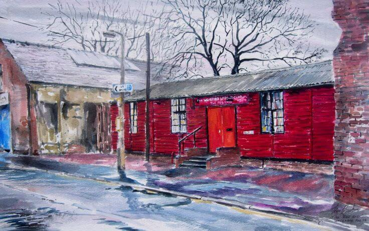 Wakefield's Red Shed. Photo: Tim Burton.
