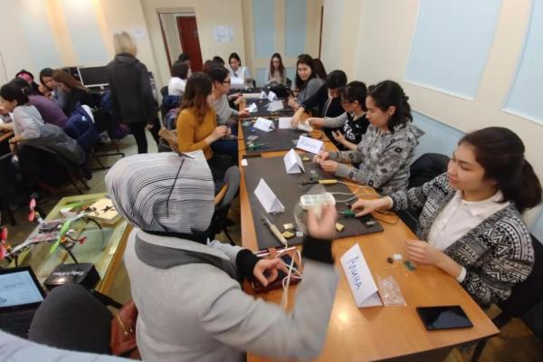 Kyrgyz Space Program: March 5, 2018, Day 1 of the school. Image credit: Kyrgyz Space Program Patreon