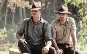 Franco and Jim Parrack in As I Lay Dying