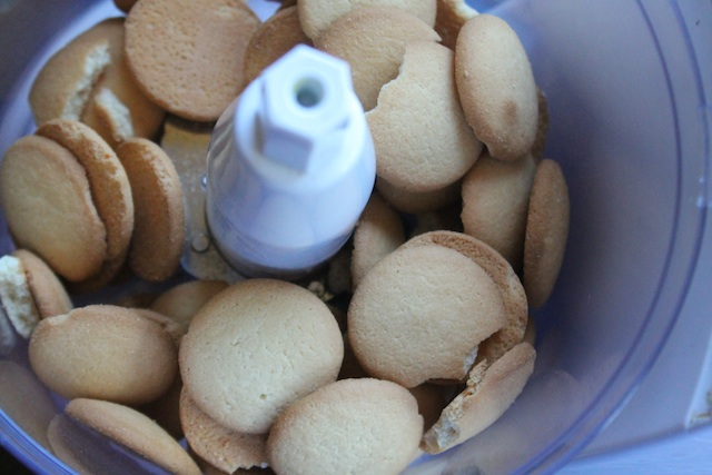 Vanilla Wafers in Food Processor